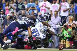 Seahawks escape Lions - Photo