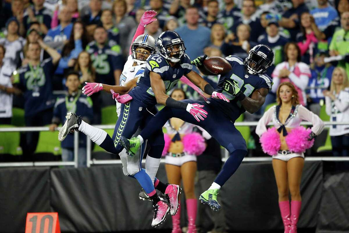 The Legion of Boom is still very good Seattle's pass rush uncharacteristically failed to log a sack of Detroit quarterback Matthew Stafford on Monday. However, there were no such struggles in pass defense. The Legion of Boom put together a strong showing against Stafford and All-Pro wideout Calvin Johnson, holding Johnson to a relatively pedestrian six catches for 57 yards and helping Seattle force eight punts on the evening. Cornerback Cary Williams, brought in during the offseason to replace the departed Byron Maxwell, more than held his own opposite Johnson for much of the night.