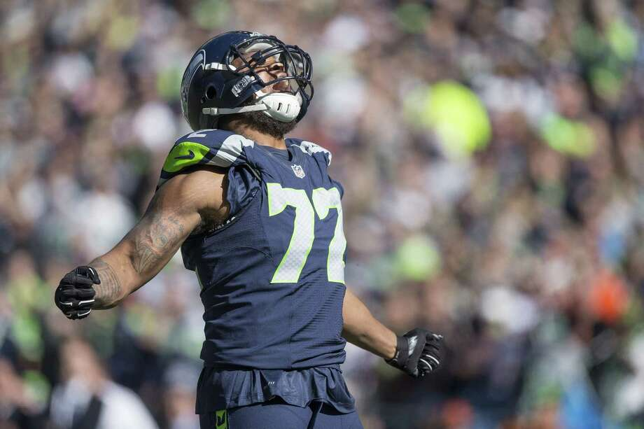 "On giving the Seahawks a hometown discount when he's a free agent:""There is no such thing as discount. This is not Costco, this is not Walmart."" Photo: Dean Rutz, McClatchy-Tribune News Service / Seattle Times"