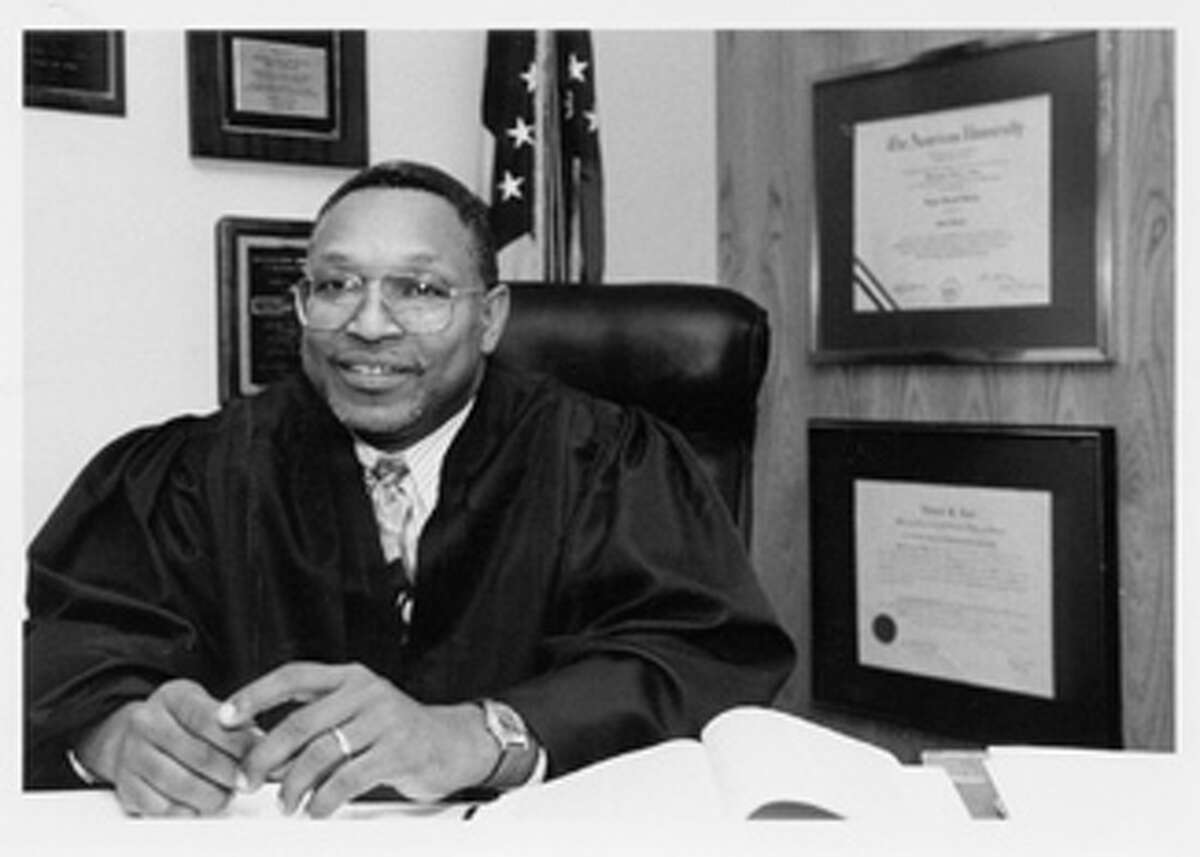 JUNE 2005 - TheNational Prison Rape Elimination Commission, chaired by U.S. District Judge Reggie B. Walton, shown here, holds its first public meeting.