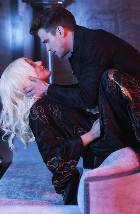 """Matt Bomer plays one of the many twisted romances of Lady Gaga's 'Countess' character in 'American Horror Story: Hotel' on FX. October, 2015 AMERICAN HORROR STORY -- """"Chutes and Ladders"""" Episode 502 (Airs Wednesday, October 14, 10:00 pm/ep) Pictured: (l-r) Lady Gaga as the Countess, Matt Bomer as Donovan. CR: Suzanne Tenner/FX Photo: Suzanne Tenner/FX, FX"""