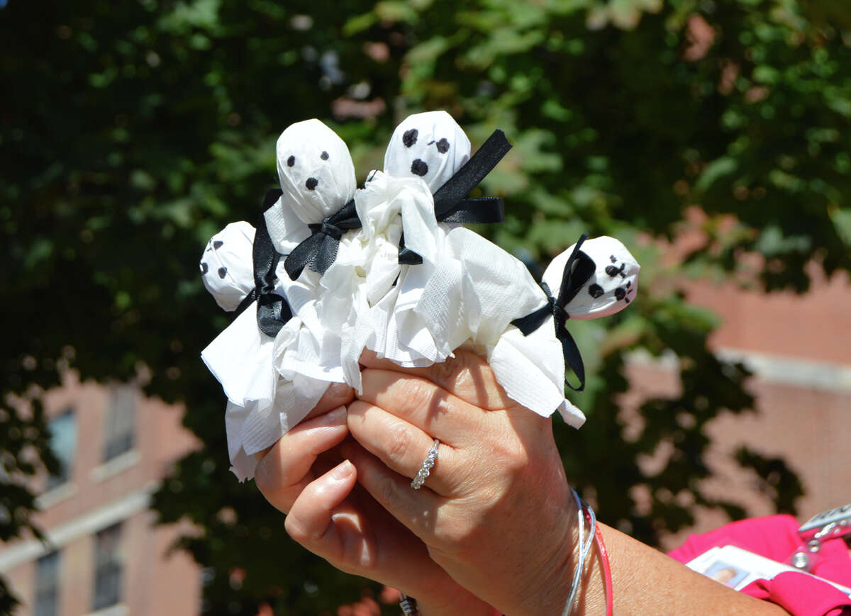 The 14th Annual Children's Health and Safety Fair on Oct. 30 from 3-8 p.m. at Warsaw Park in Ansonia will have a Halloween theme this year, with fun, games and treats like these ghostly lollipops.