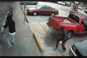 Scary Houston armed robbery caught on tape - Photo