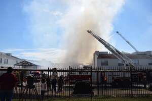 SAFD battles fire at North Side apartments - Photo