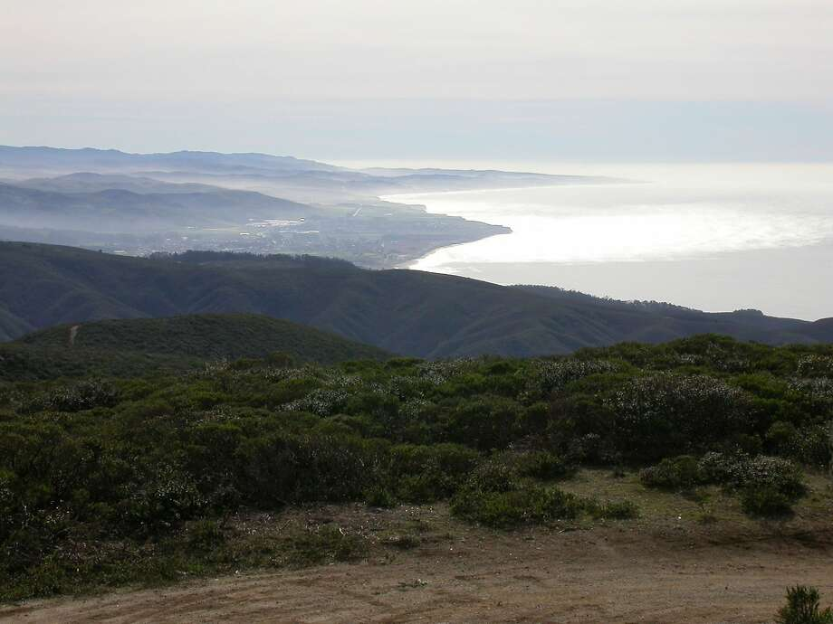 On the hike to the summit of Montara Mountain, you get this view south to Pillar Point and along the San Mateo County coast Photo: Tom Stienstra, The Chronicle