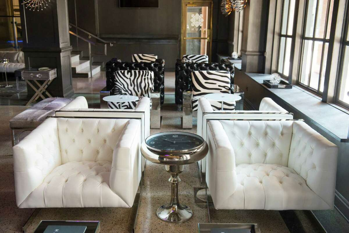 Haunt is a ghostly themed bar at St. Anthony Hotel in downtown San Antonio. The hotel was recently renovated after being purchased by new owners in 2012. The hotel will officially open this November 19.