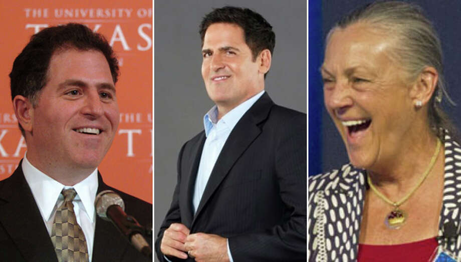 Texas' billionaires have been losing and gaining millions each day.See which Texans ended 2017 with the most money. Photo: File Photos