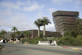 The de Young Museum is seen on Tuesday, October 6, 2015 in San Francisco, Calif.
