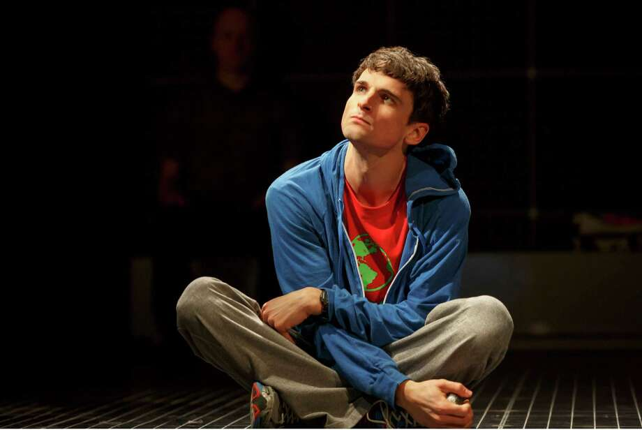 "Tyler Lea, who spent a summer in college interning at San Antonio's Magik Theatre, now stars in the Broadway staging of ""The Curious Incident of the Dog in the Nighttime."" Photo: Courtesy Joan Marcus"