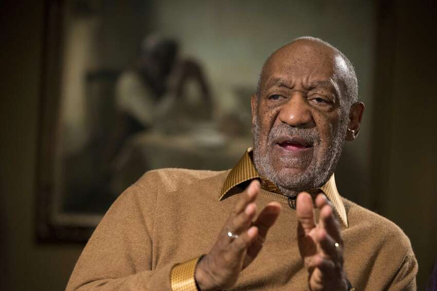 In this Nov. 6, 2014 file photo, entertainer Bill Cosby gestures during an interview at the Smithsonian's National Museum of African Art in Washington. Lawyers for Bill Cosby argue in a new court filing his admission he used quaaludes in the 1970s doesn't mean he drugged and sexually assaulted women. The lawyers on Tuesday, July 21, 2015, asked a court to preserve the confidentiality of his 2006 settlement in a sexual-battery lawsuit. (AP Photo/Evan Vucci, File)
