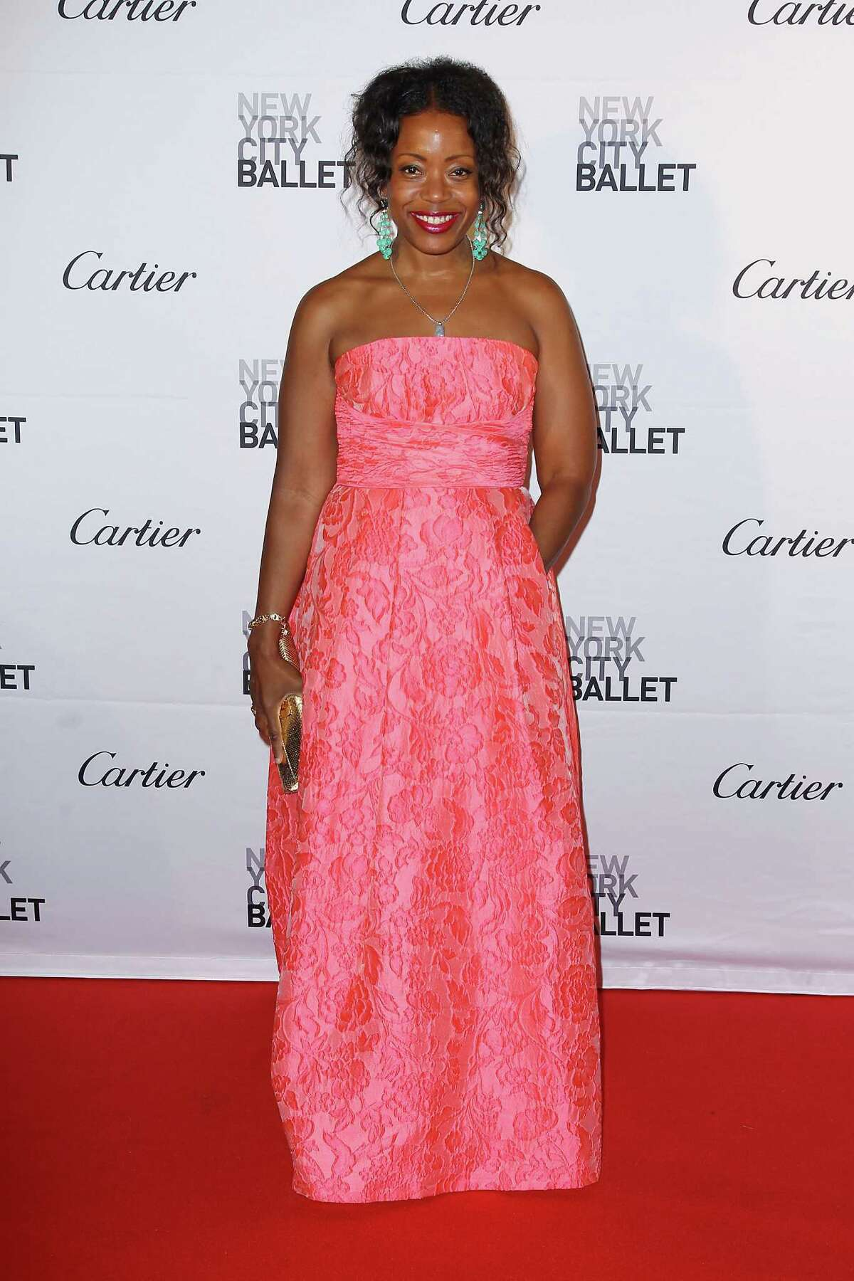 Designer Tracy Reese appears at the New York City Ballet 2015 Fall Gala, Wednesday, Sept. 30, 2015 in New York.