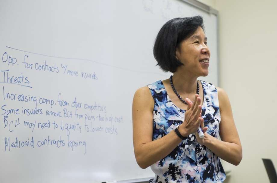 "Vivian Ho, a health economist, says: ""You can't force insurers to lose money."" Photo: Rice University"