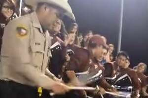 Sheriff near San Antonio plays in high school band at football game, becomes viral sensation - Photo