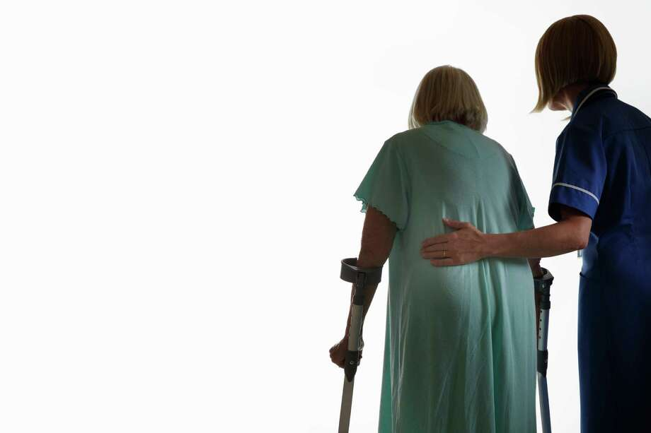 A national study found that 15 percent of elderly in residential care facilities are injured in falls each year. Photo: Andrew Bret Wallis, Getty Images / (c) Andrew Bret Wallis