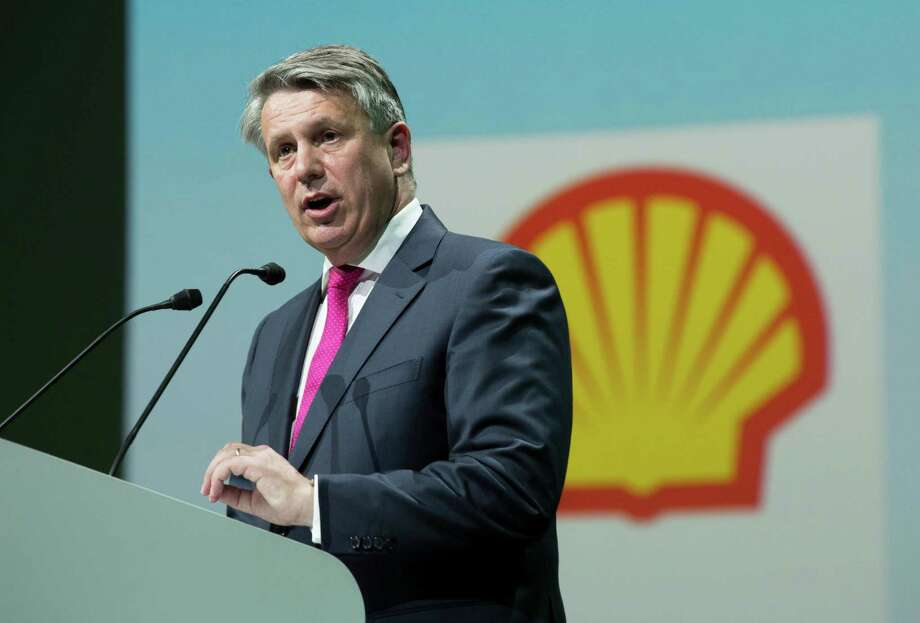 """I see the first mixed signs for recovery of oil prices."" -- Royal Dutch Shell CEO Ben van Beurden. (Bloomberg photo) Photo: Christophe Morin /GT / © 2015 Bloomberg Finance LP"