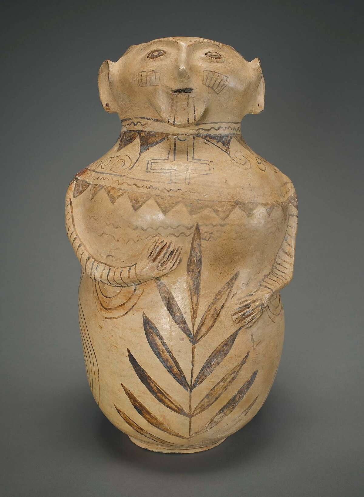 """""""Effigy vessel"""" (c. 1910) was part of the show""""Lines on the Horizon: Native American Art From the Weisel Family Collection"""" from May 3, 2014, to Jan. 4, 2015."""