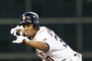 Carlos Gomez returns to starting lineup for Astros; Evan Gattis back at DH - Photo