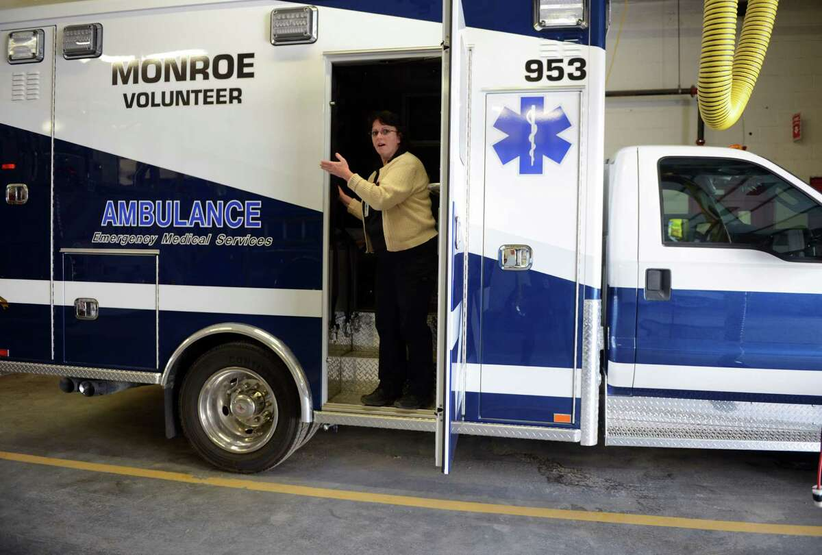Monroe's Emergency Medical Technicians have been using local Fire Department space to keep their equipment. A $500,000 state grant announced Tuesday will help build the EMTs own facility.