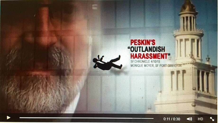 A political action committee with major funding from tech angel Ron Conway has launched a 30-second Internet ad blasting San Francisco Board of Supervisors candidate Aaron Peskin. Image courtesy the Committee for a Progressive and Affordable San Francisco. Photo: Comit