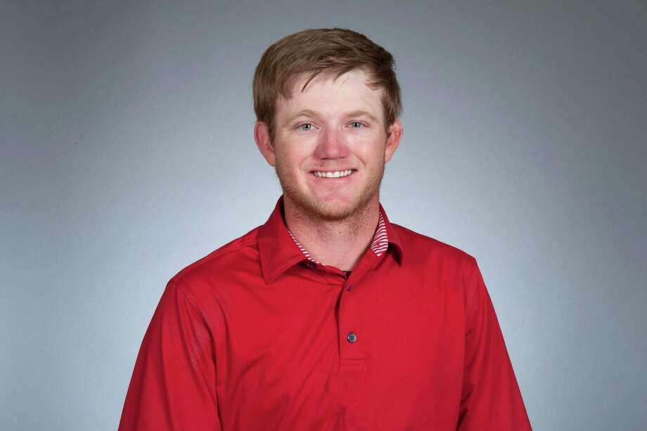 Curtis Reed, a former University of Houston and Medina Valley standout, poses for his 2015 Canada PGA Tour portrait. Photo: Courtesy Photo /PGA Tour / 2015 Jennifer Perez/PGA TOUR