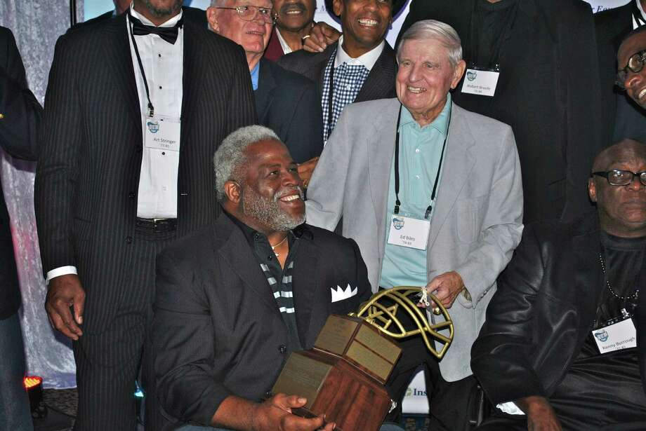 Earl Campbell and Ed Biles at the Bum Phillips All-American Opera Photo: Houston Chronicle