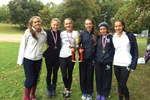 Lauralton cross country team brings home first title in Bridgeport - Photo
