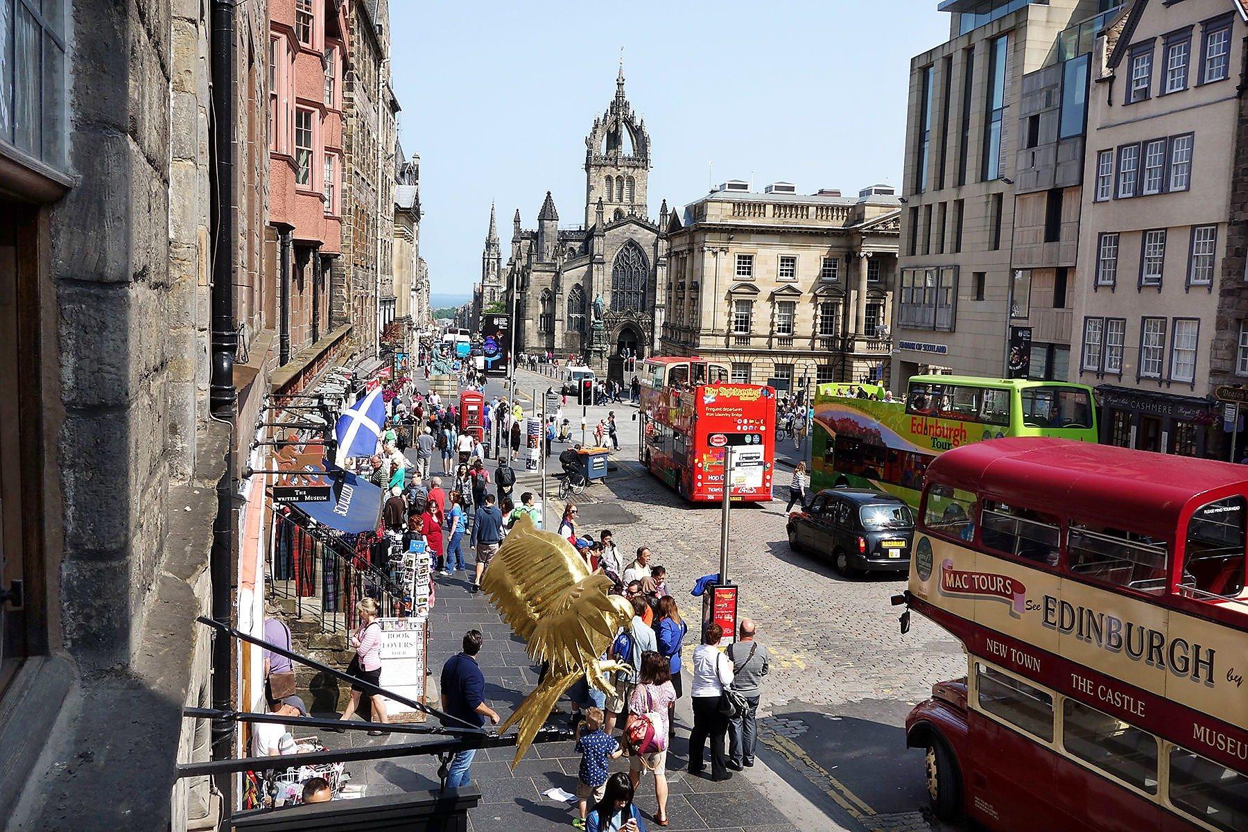 Edinburgh S Royal Mile Sfgate