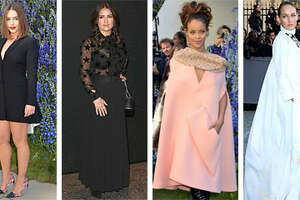 Celebs at Paris Fashion Week - Photo