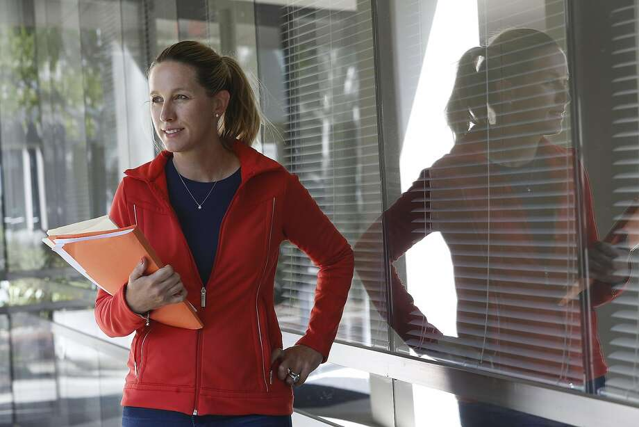 Doctor Tina Clarke, Ph.D., a scientist who tracks cancer rates in the bay area found declining rates of breast cancer in Marin County at her office in Fremont, Calif., on Tuesday, October 6, 2015, Photo: Liz Hafalia, The Chronicle