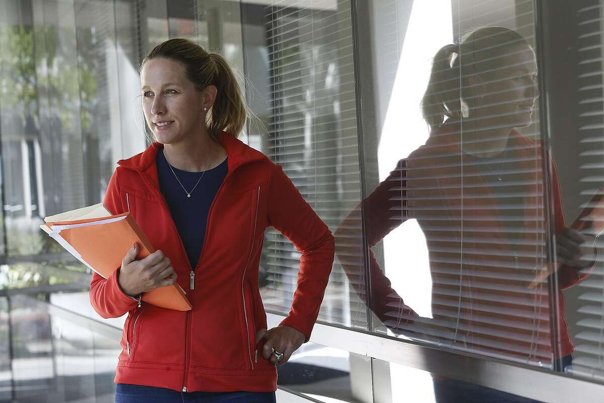Doctor Tina Clarke, Ph.D., a scientist who tracks cancer rates in the bay area found declining rates of breast cancer in Marin County at her office in Fremont, Calif., on Tuesday, October 6, 2015,