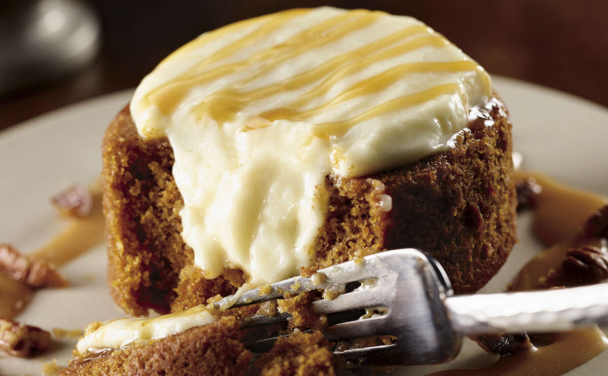 LongHorn Steakhouse: Pumpkin Space Lava Cake is $6.99. Find the nearest location at LongHornSteakhouse.com.