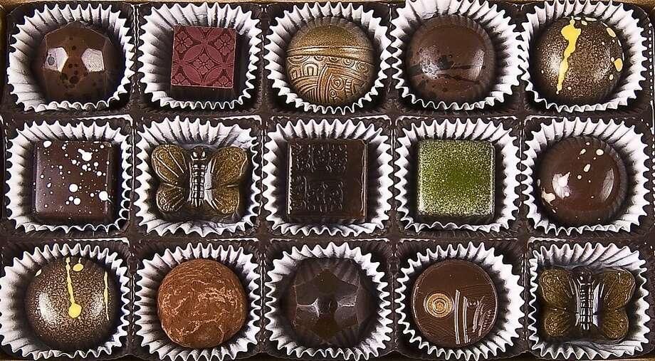 Casa de Chocolates box of chocolates. 2629 Ashby Ave. (510) 859-7221. www.casadechocolates.com. Photo: Enrique Meza, Jeremys