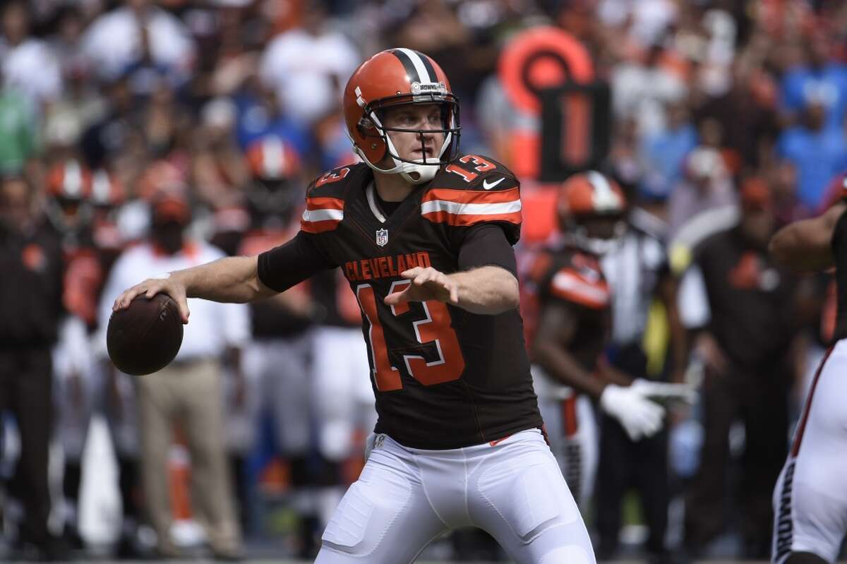 30. Cleveland Browns (1-3) Last week: 28 If they lose at Baltimore, as expected, the Browns will be alone in the AFC North basement. Where they belong.