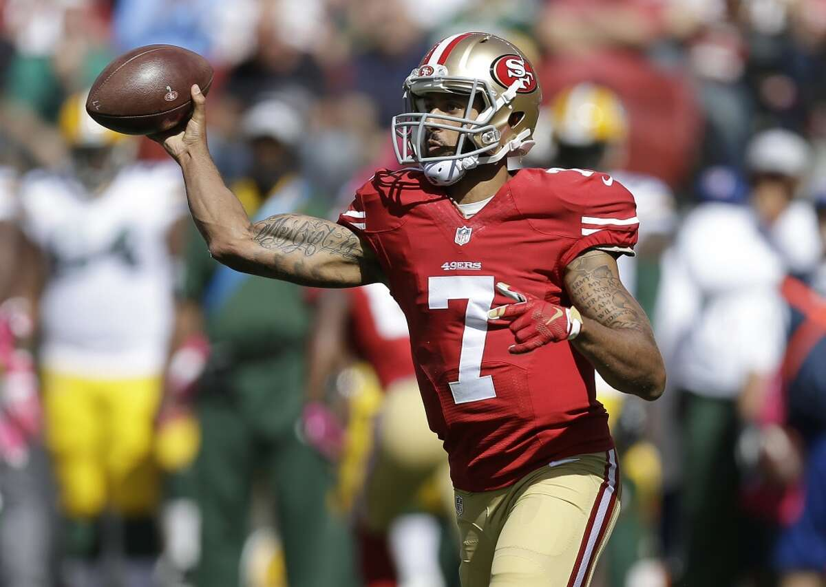 31. San Francisco 49ers (1-3) Last week: 27 Colin Kaepernick has regressed to a point where coach Jim Tomsula needs to remove him so his confidence isn't totally shattered.