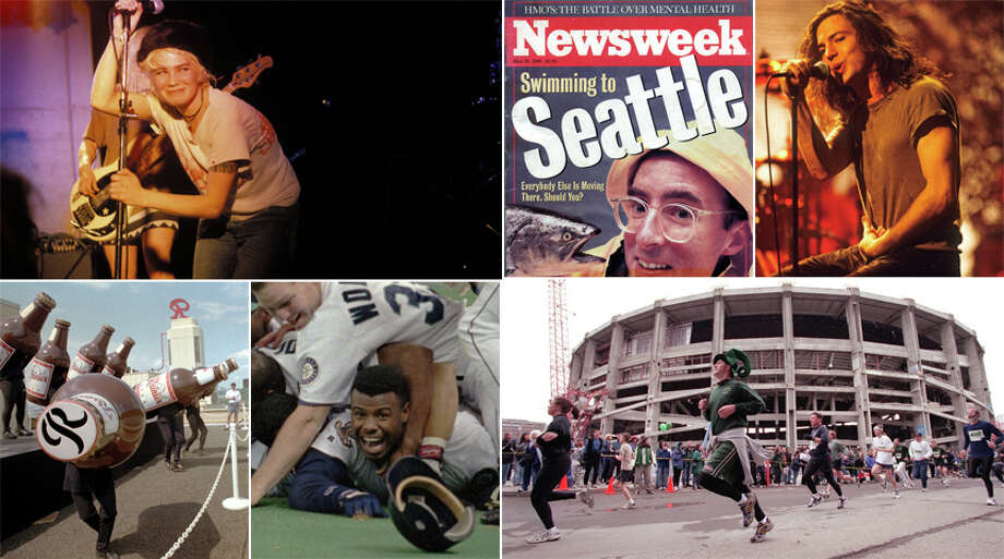 Before it got all serious about cash-blasting disruptive innovation, Seattle was a cultural phenomenon. Here's some of the best (or most memorable) bits about Seattle in the 90s for those who were kids in that time. Photo: File Photos