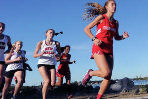 Greenwich sweeps girls cross country meet - Photo