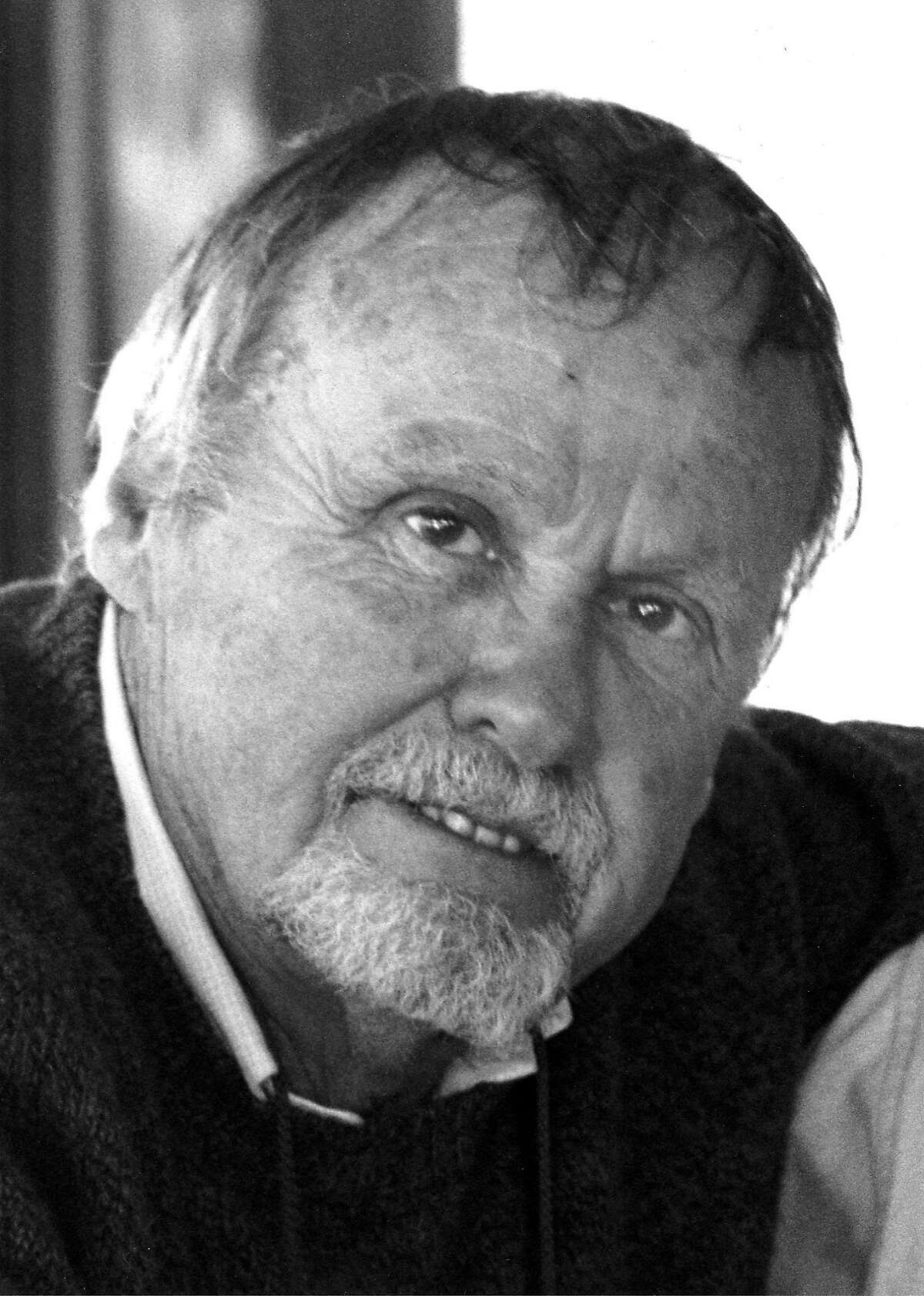 Oakley Hall, a giant of California literature, died Monday after a battle with cancer and kidney disease. Photo Courtesy of Oakley Hall