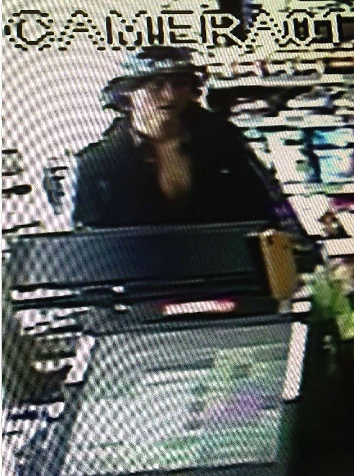 The Marin County Sheriff's Office has identifiedMorrison Haze Lampley, 23, as a suspect in the homicide of Steve Carter near Fairfax. This photo was taken in a convenience store in Fairfax.