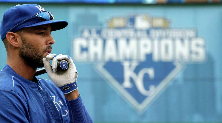 Alex Rios and the Royals won the AL Central title en route to the club's second straight playoff appearance. Photo: Charlie Riedel, STF / AP