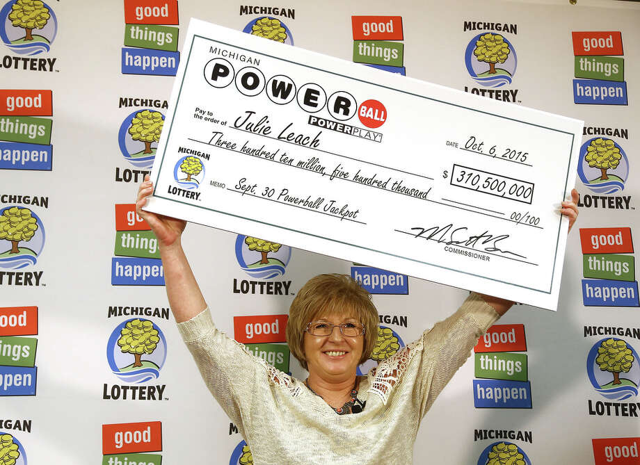 Powerball winner Julie Leach of Three Rivers, Mich., immediately quit her job after learning she won. Photo: Danielle Duval, MBI / Jackson Citizen Patriot