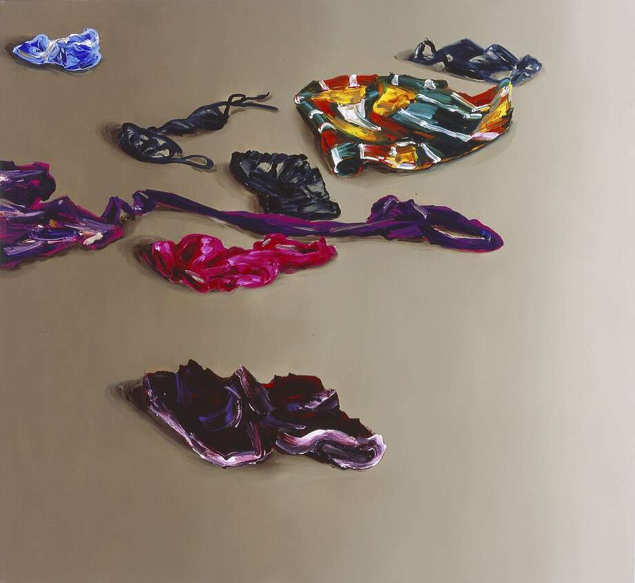 "Cornelius Volker's 2014 oil painting ""Clothing"" is on exhibit at the Hosfelt Gallery from Oct. 17 through Dec. 5.  Photo: Hosfelt Gallery"