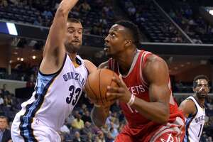 Rockets see flashes of their potential in preseason opener loss to Grizzlies - Photo