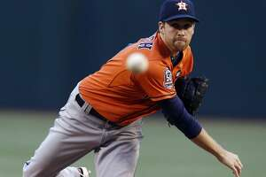 Astros starter Collin McHugh brings his 19 wins to Kansas City to open ALDS - Photo