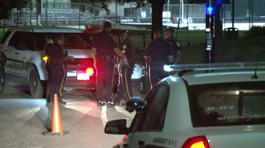 One person was shot on Texas Southern University campus Tuesday night when an argument broke out after an event at the museum. Photo: Metro Video