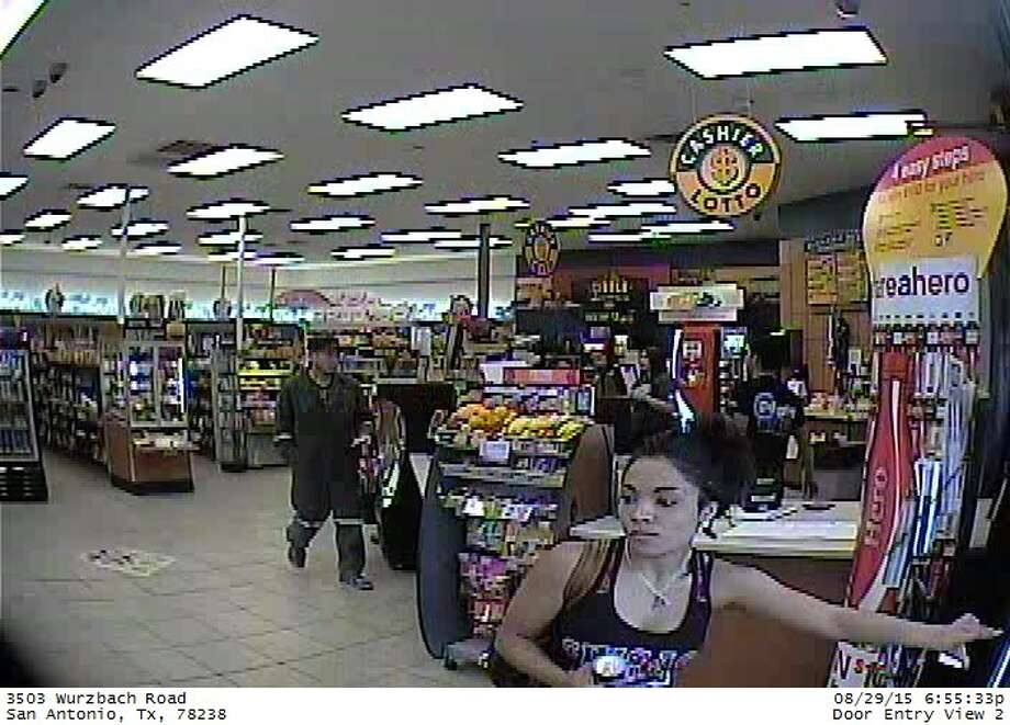 Bexar County Sheriff's Deputies are searching for armed robbery suspects believed to be using stolen credit cards throughout Bexar County. Photo: Bexar County Sheriff's Office