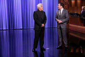 Jay Leno Takes Over Jimmy Fallon's Tonight Show Monologue - Photo
