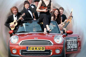 Mozart to Monty Python on ukuleles: The United Kingdom Ukulele Orchestra is coming to the Danbury Palace - Photo