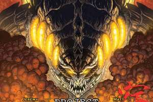 S.A.'s Godzilla artist signing new comic at Alien Worlds - Photo