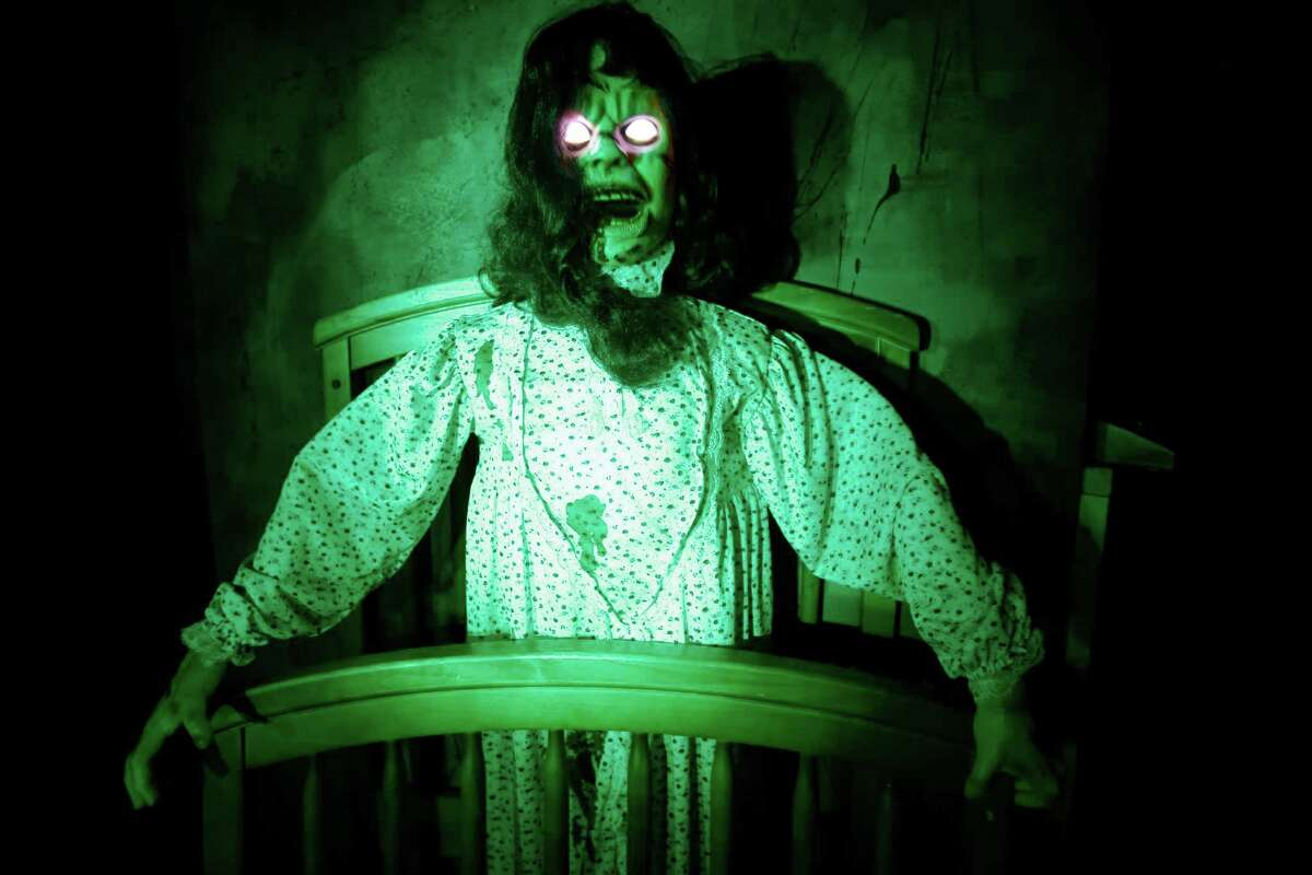 The haunted house at the National Museum of Funeral History will have you screaming for more - or for the door.