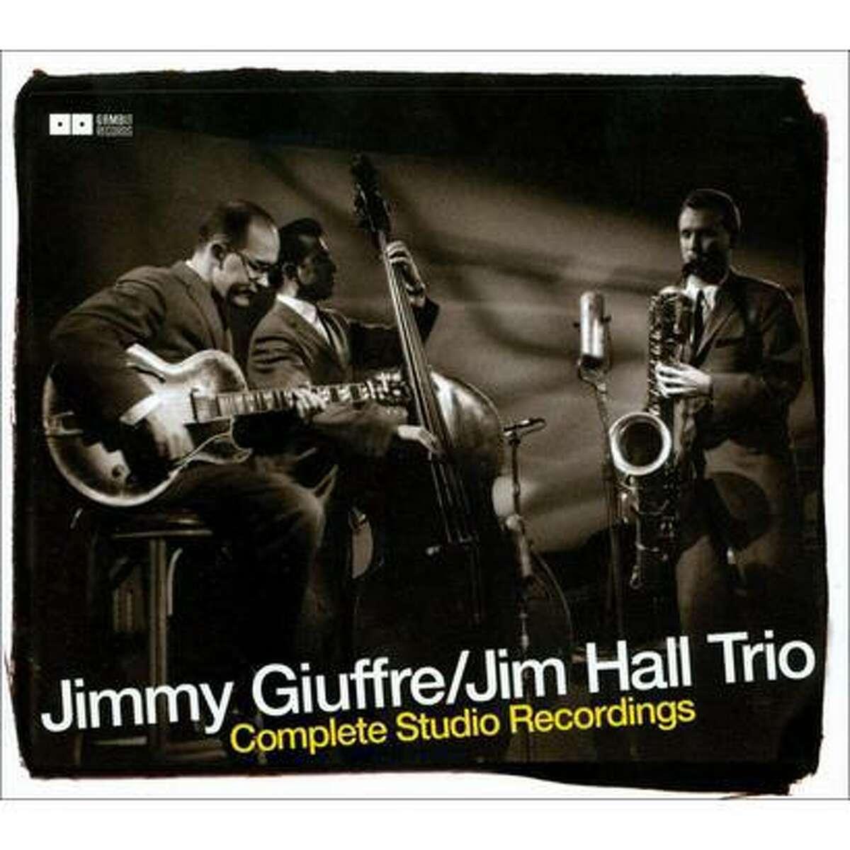 album cover for the Jimmy Giuffre Jim Hall Trio album The Complete Recordings